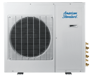 American Standard ductless mini split system outdoor unit