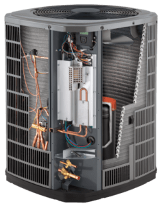 American Standard heat pump cutaway