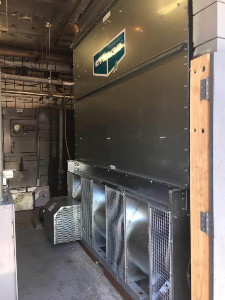 commercial water tower Desert Tech installation
