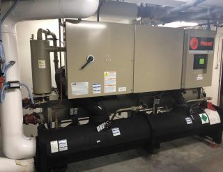 commercial chiller Desert Tech new installation